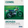 Clymer M315 Service Shop Repair Manual Honda OHC Sngls 100-350cc 69-82