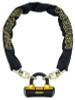 OnGuard 8019L Mastiff Hex Chain Lock 6' x 10mm