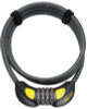 OnGuard 8062 Terrier Combo Cable Lock 7' x 6mm