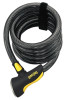 OnGuard 8028 Doberman Coil Cable Lock 6' x 12mm