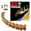 EK 525SROZ2 Gold O-Ring Motorcycle Chain (Rivet Master)