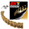 EK 530SRX2 Gold Sport Race QX-Ring Motorcycle Chain (Screw Master)