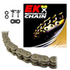 EK 520ZVX3 Ultra High Performance NX-Ring Motorcycle Chain