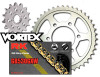 RK Vortex Gold Stl OE Chain and Sprocket Kit ZX1200A 00-05 / B ZX-12R 00-05