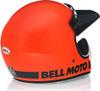 Bell Moto-3 Gloss Hi-Viz Orange Classic Helmet