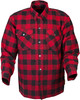 Scorpion Covert Flannel Red Black Shirt