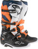 Alpinestars Tech 7 Boots Black Orange White Blue