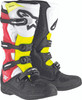 Alpinestars Tech 5 Boots Black White Red Yellow