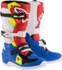Alpinestars Tech 7S Youth Boots Blue White Red Yellow