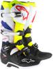 Alpinestars Tech 7 Boots White Yellow Blue