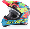 Suomy MX Jump Start Cyan Fuxia Helmet