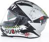 Suomy Speedstar Propeller Silver Helmet