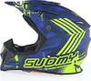 Suomy MX Speed Sergant Matte Blue Yellow Helmet