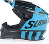 Suomy MX Speed Full Gas Cyan Blue Helmet