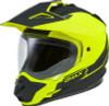 Gmax GM-11 Dual-Sport Scud Helmet Matte Hi-Viz