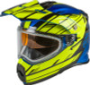 Gmax Youth AT-21Y Epic Snow Helmet Yellow Blue