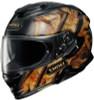 Shoei GT-AIR II DEVIATION TC-9 Gold Helmet