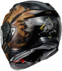Shoei GT-AIR II DEVIATION TC-9 Gold Helmet