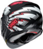 Shoei RF-1200 VARIABLE TC-1 Red Helmet