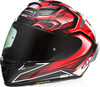Shoei X-14 AERODYNE TC-1 Red Helmet