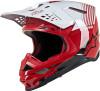 Alpinestars SUPERTech M10 DYNO RED/WHITE Helmet