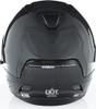 6D ATS-1R Solid Gloss Carbon Black Helmet