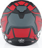 6D ATS-1R Rogue Matte Red Grey Helmet