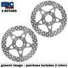 EBC VEE Disc Rotors Front VR4012GRN (2 Rotors - Bundle)