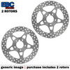 EBC VEE Disc Rotors Front VR629GLD (2 Rotors - Bundle)