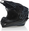 Troy Lee Designs Gp Silhouette Black Gray Helmet