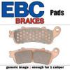 EBC Double-H Sintered Metal Brake Pads EPFA95HH