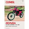 Clymer M317 Service Shop Repair Manual Honda Elsinores 125-250cc 73-80