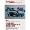 Clymer M330 Service Shop Repair Manual Vintage British Street Bikes