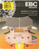 EBC Double-H Sintered Metal Brake Pads FA409HH