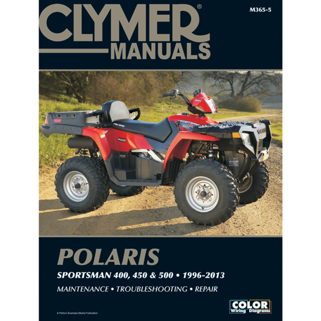 Clymer M365 5 Service Shop Repair Manual Polaris Sportsman 400 450 500 96 13 Speed Addicts