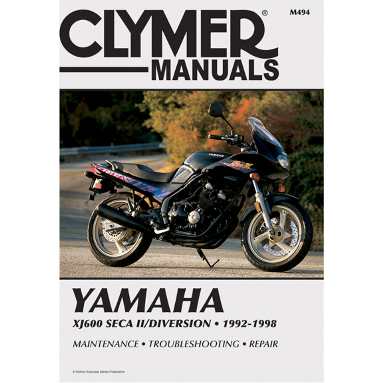 Clymer M494 Service Shop Repair Manual Yamaha XJ600 SECA II 92-98