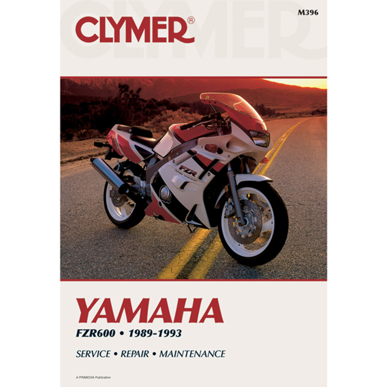 Clymer M396 Service Shop Repair Manual Yamaha FZR600 89-93