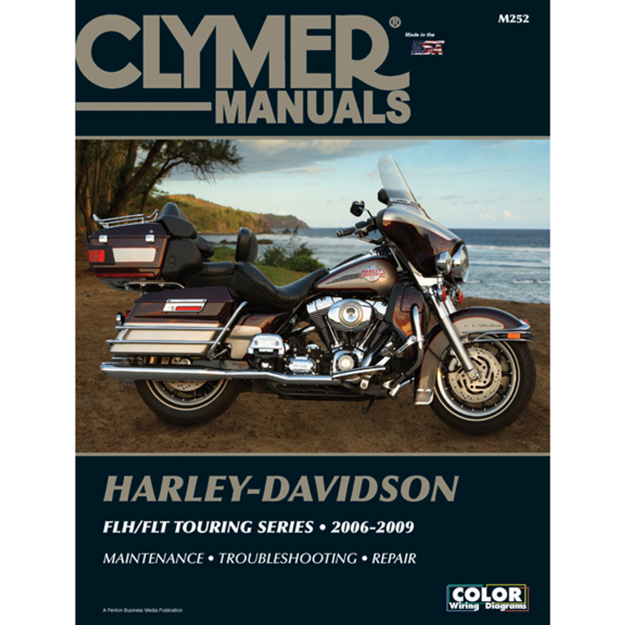 Clymer M252 Service Shop Repair Manual Harley FLH / FLT Touring Series on