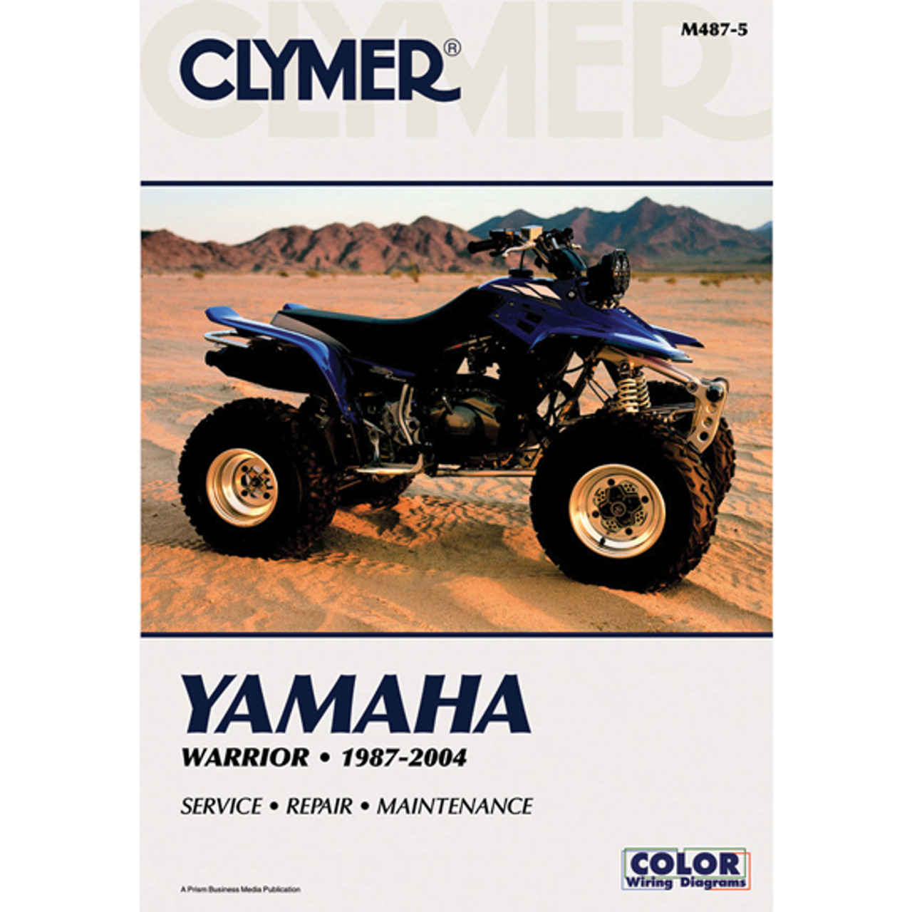 Clymer M488-5 Service Shop Repair Manual Yamaha Blaster 1988-2005
