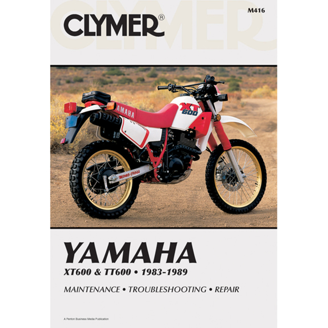 Clymer M416 Service Shop Repair Manual Yamaha XT600 / TT60 83-89
