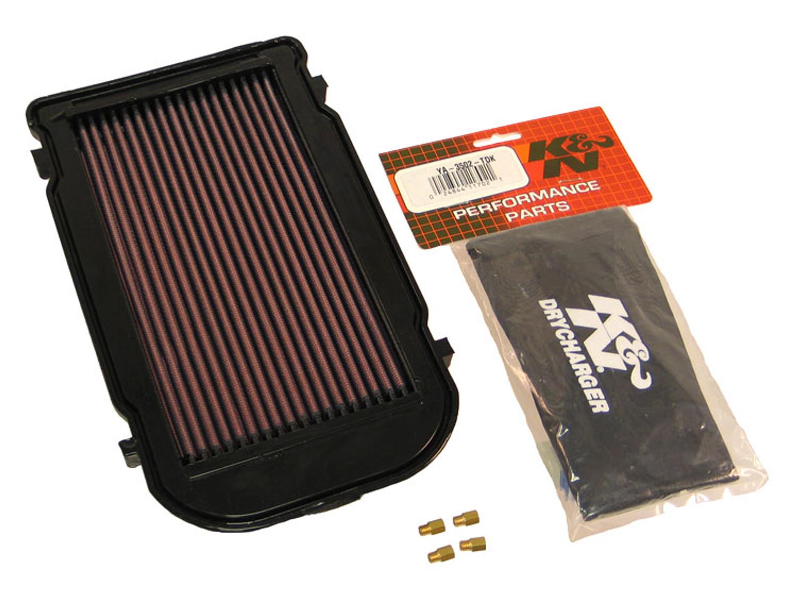 K&N Air Filter YA-3502-T POWER LID Yamaha YFZ350 Banshee