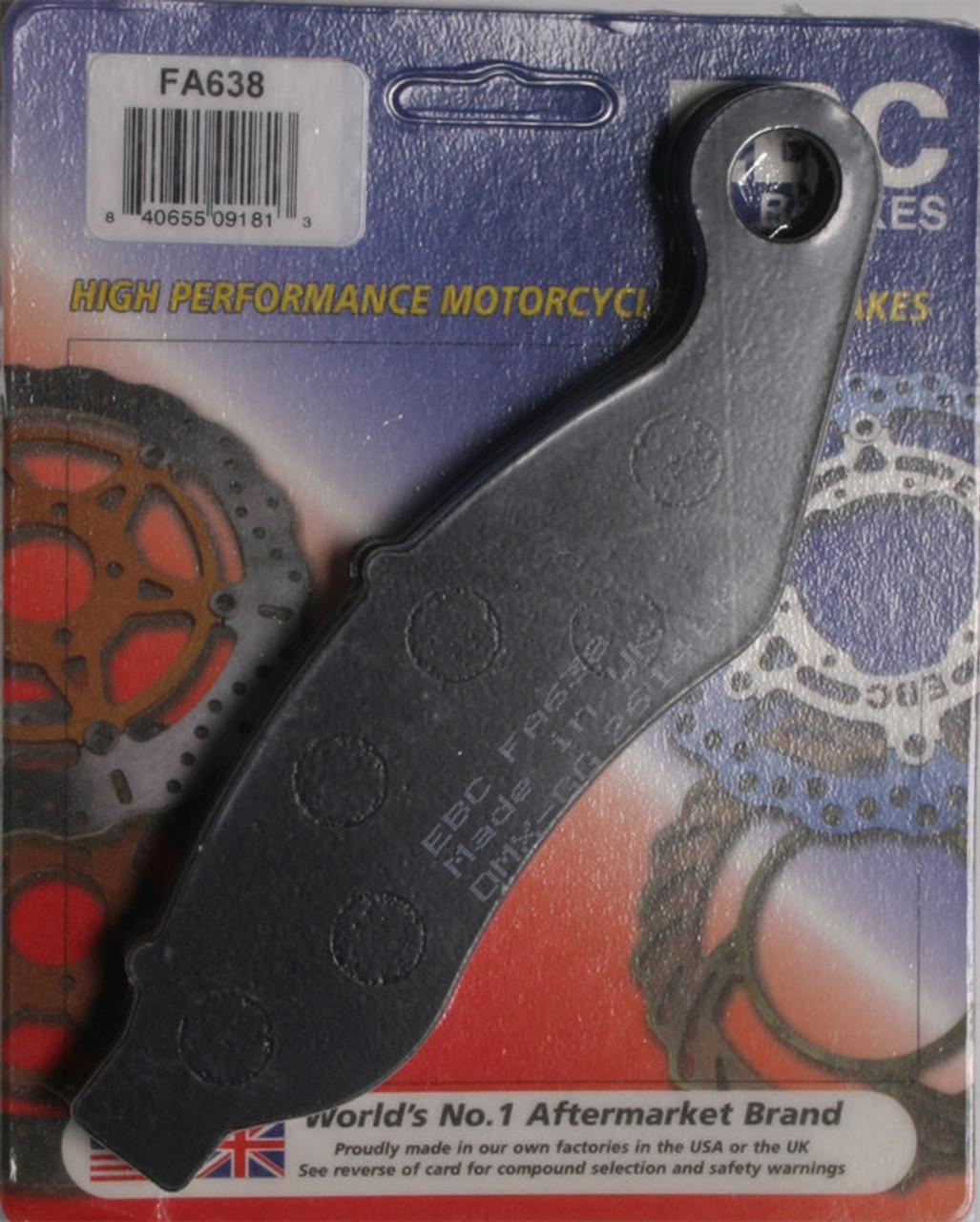 Harley-Davidson FLRT Freewheeler,FLHTCUTG Tri Glide Ultra C EBC BRAKE PADS Fits