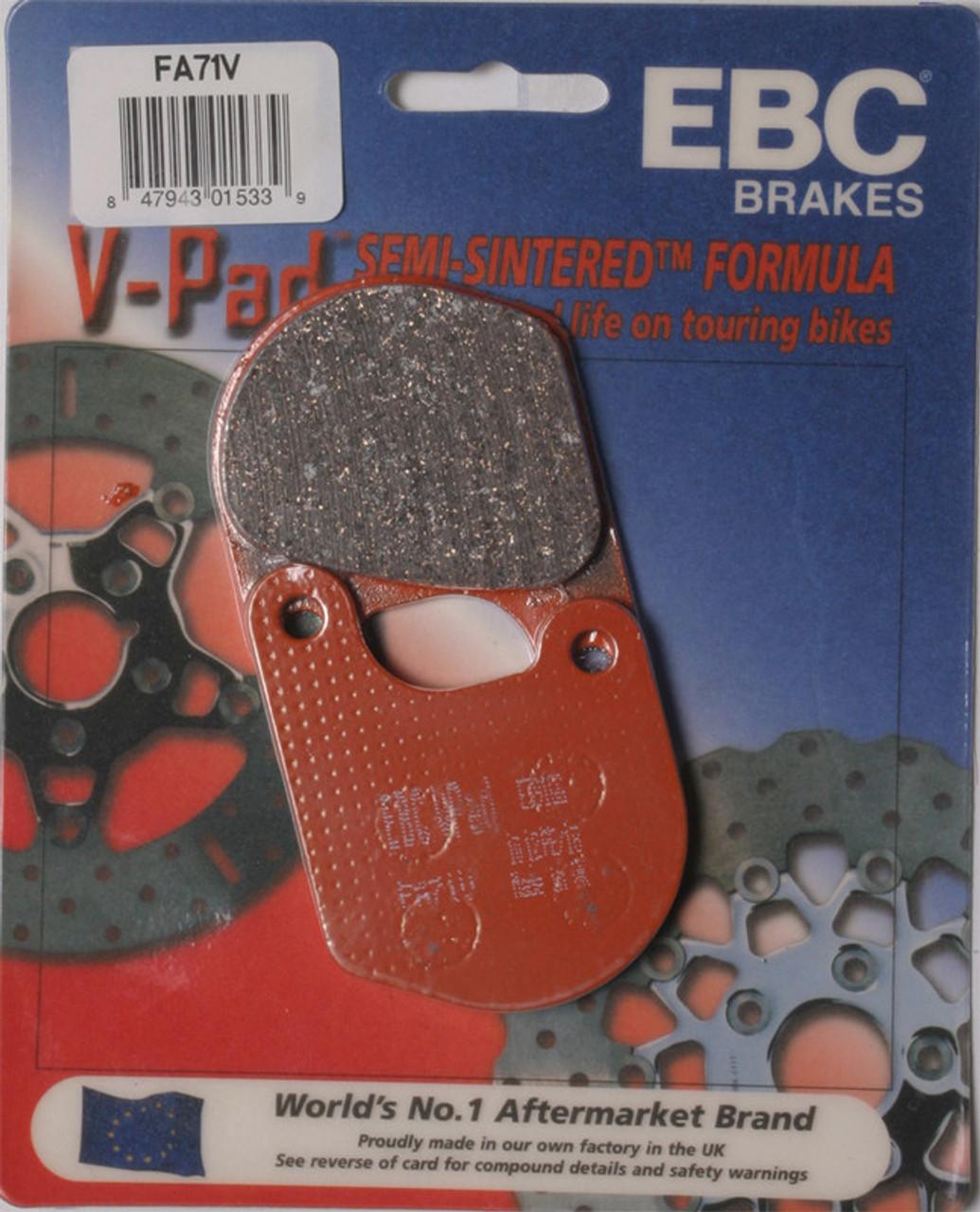 Ebc Brake Pads >> Ebc Brake Pads Fa71v