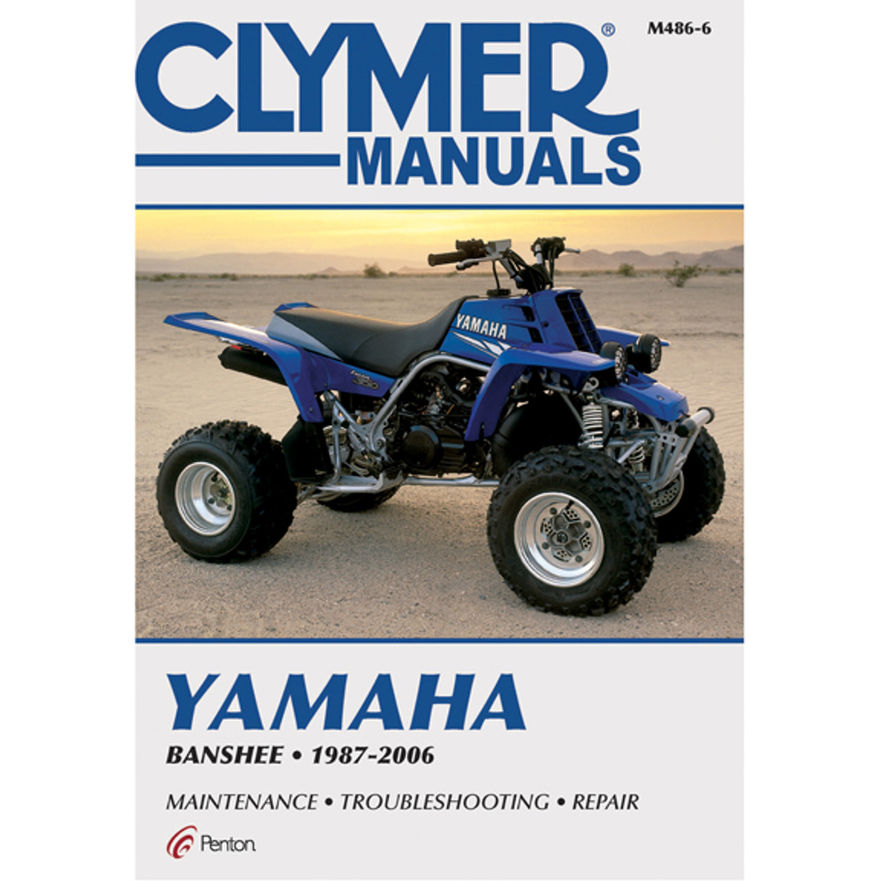 CLYMER Repair Manual for Yamaha Raptor 700R 2006-2009