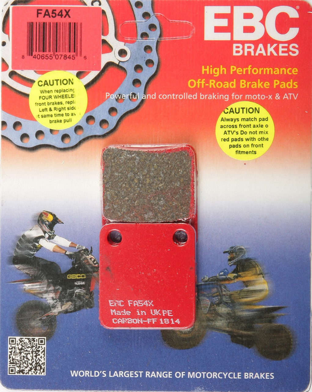 Ebc Brake Pads >> Ebc Brake Pads Fa54x Speed Addicts