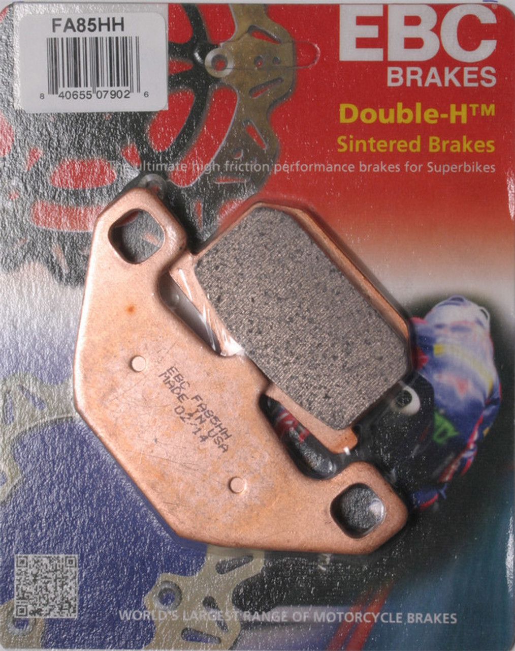FA85HH EBC Double-H Sintered Brake Pads