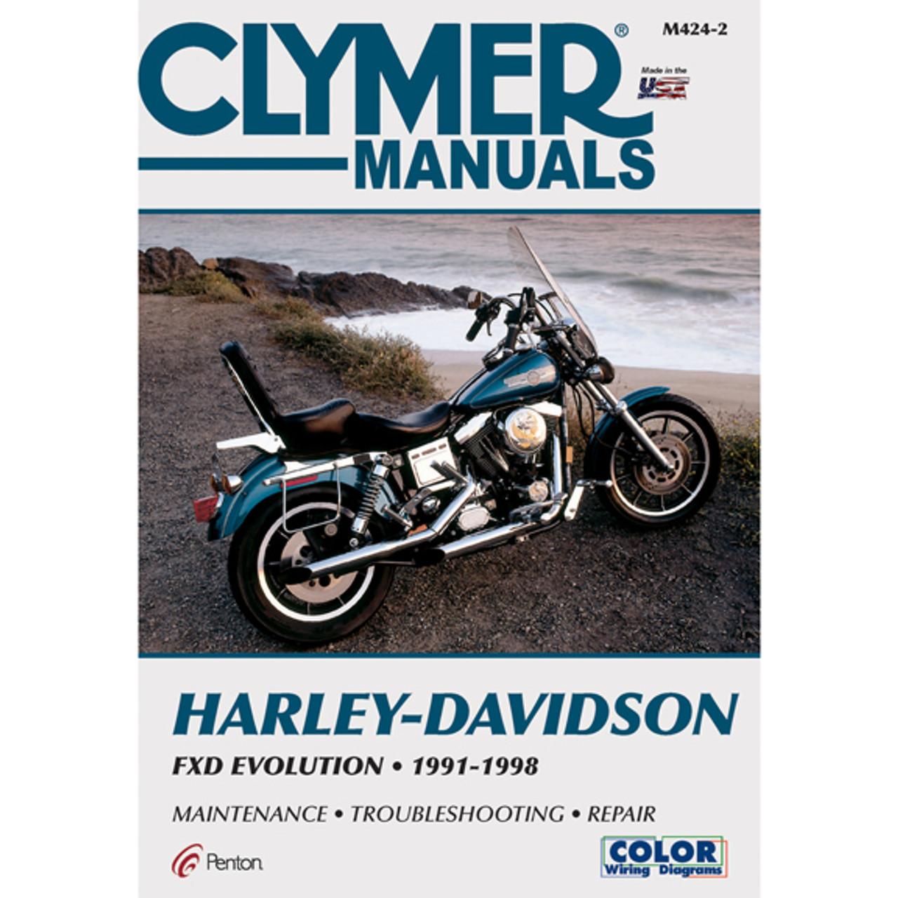 harley davidson manual service