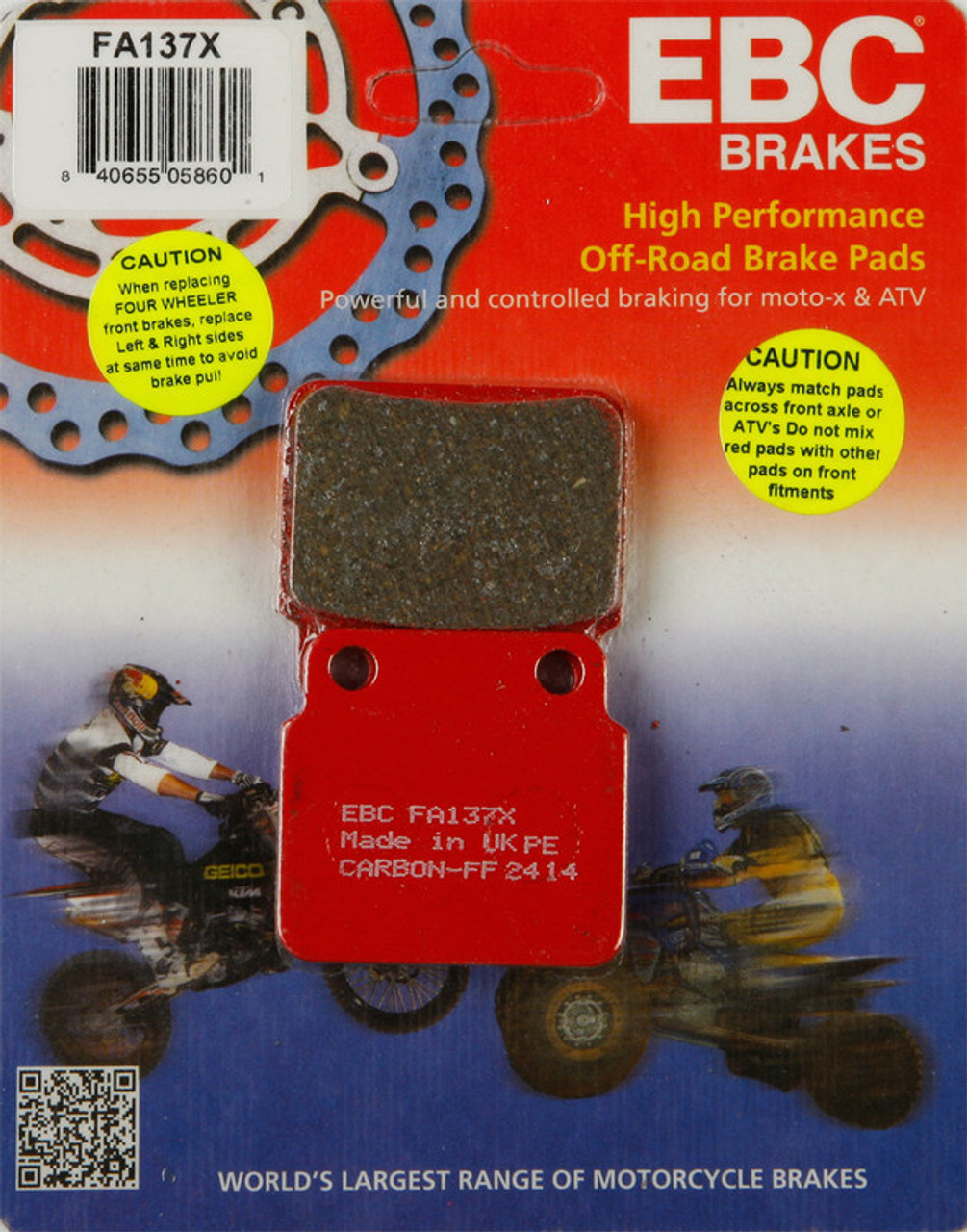 Ebc Brake Pads >> Ebc Brake Pads Fa137x Speed Addicts