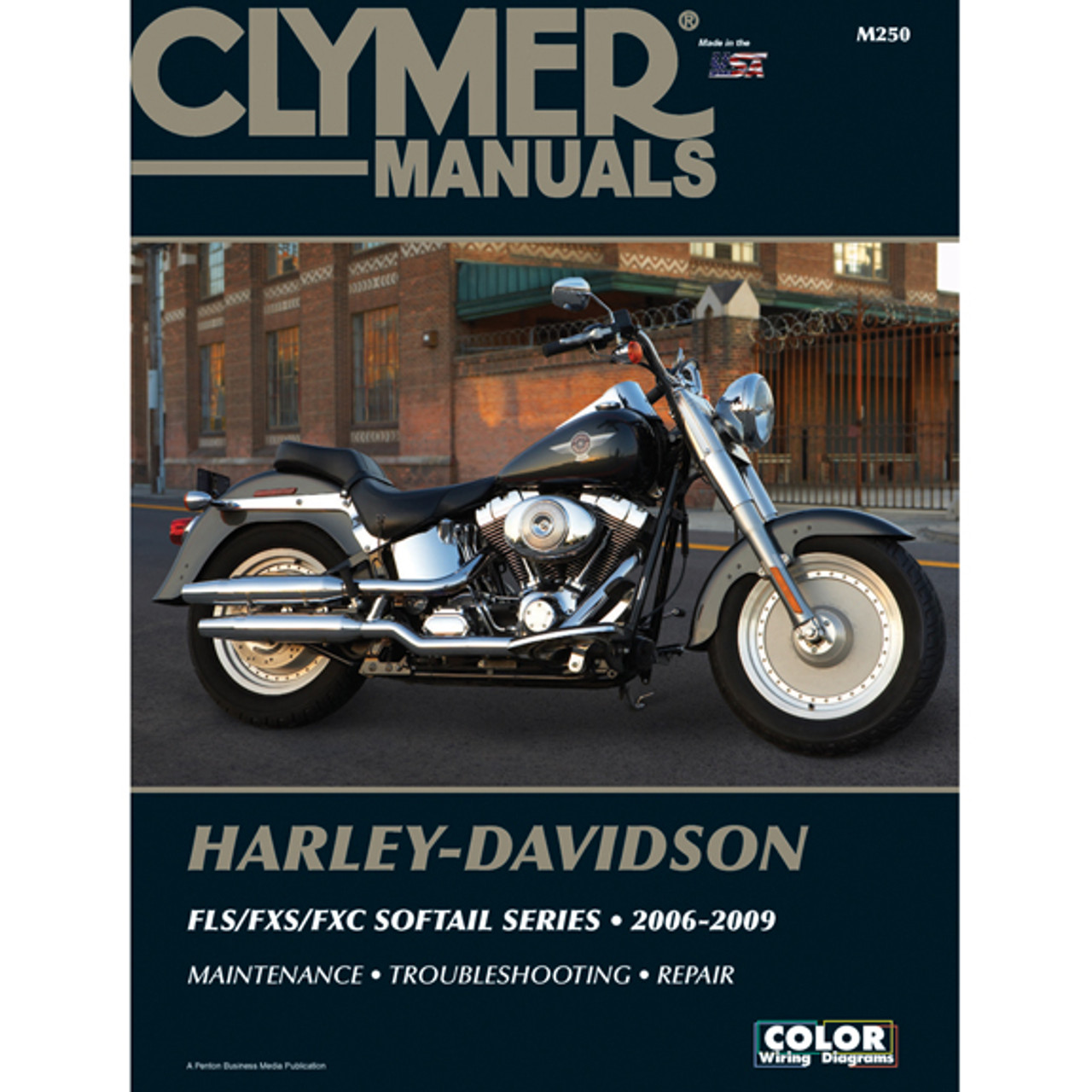 Clymer M250 Service Shop Repair Manual Harley Fls Fxs Fxc Sofftail Series 06 09 Speed Addicts