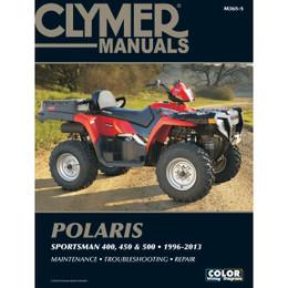Clymer M365-5 Service Shop Repair Manual Polaris Sportsman 400 / 450 / 500 96-13